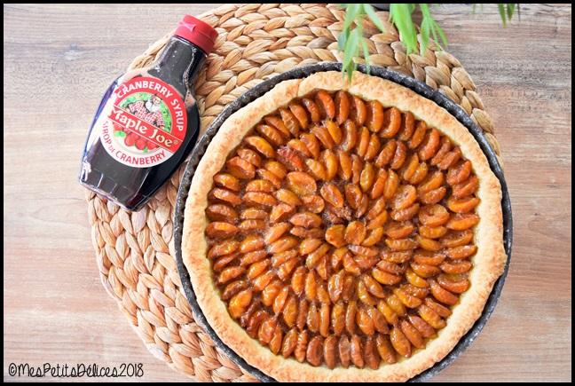 tarte mirabelle cranberry 6C Tarte aux mirabelles et sirop de cranberry