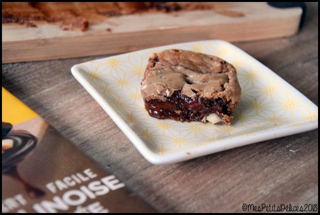Brownie indécent pralinoise 3C Brownie indécent à la pralinoise et aux noisettes