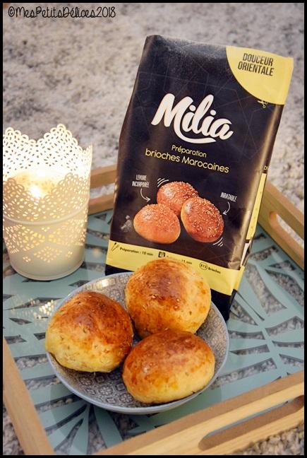 brioches marocaines miliaC Jai testé : Les préparations pour pains et gâteaux orientaux Milia