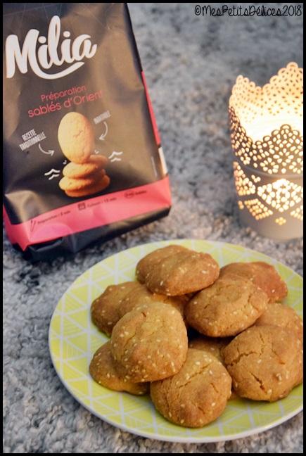 sablés orientaux miliaC Jai testé : Les préparations pour pains et gâteaux orientaux Milia