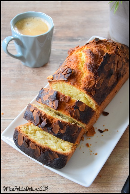 cake aux amandes 1C Cake aux amandes