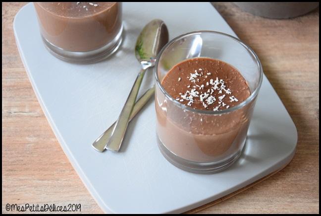crèmes choco coco 2C Crèmes dessert chocolat/coco
