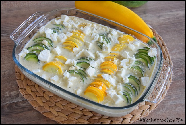 clafoutis courgettes fromage 2C Clafoutis aux courgettes et aux fromages