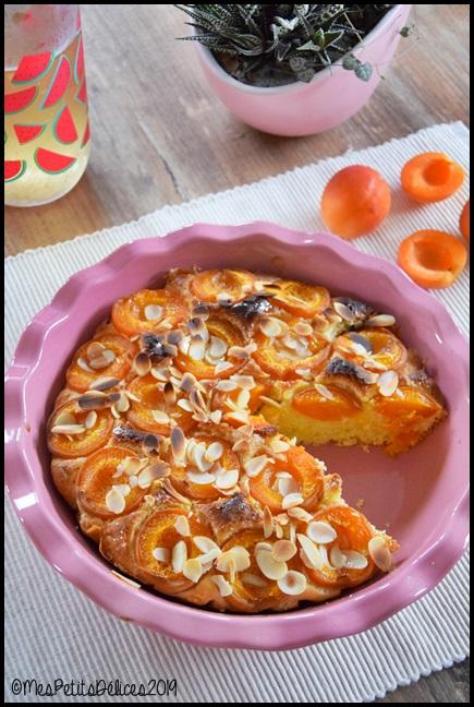 tarte briochée aux abricots 3C Tarte briochée aux abricots