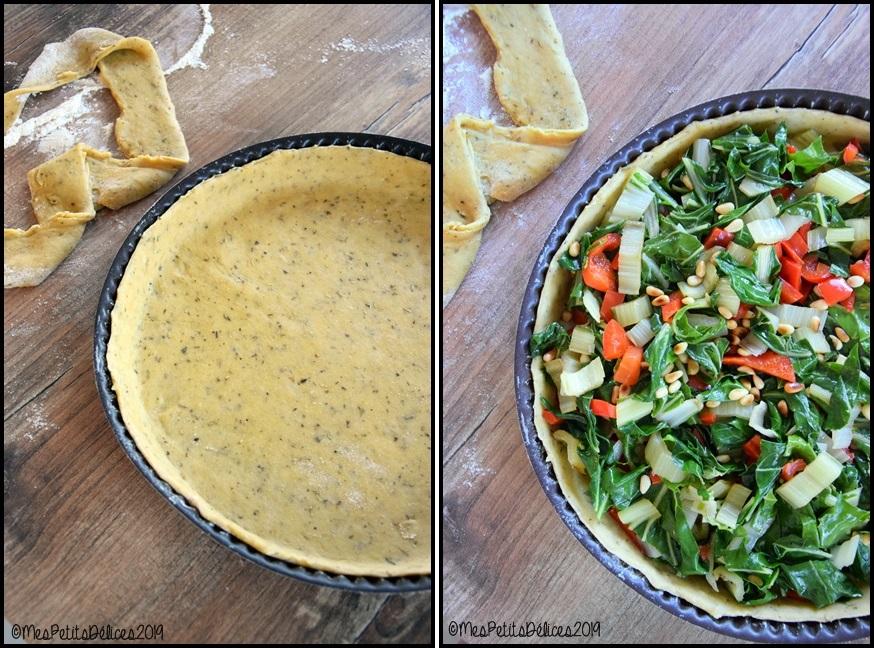 pâte à tarte huile dolive herbes de pvce 2C horz Pâte brisée à lhuile dolive et herbes de Provence