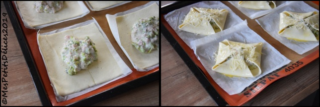 paniers brocolis jambon comté 3 sideC Paniers feuilletés au brocolis, jambon et Comté