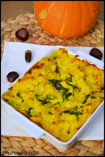 gratin légumes dautomne 1C Gratin de macaronis au potimarron