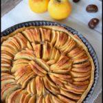 tarte pommes crème de marrons 2C
