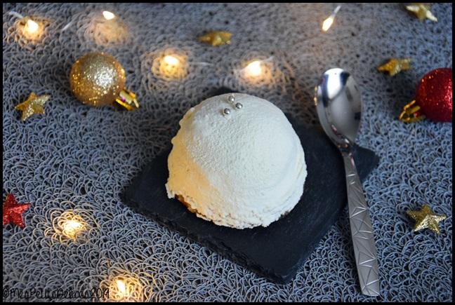 boule de neige à la myrtille 3C {Noël} Boules de neige au coeur myrtille