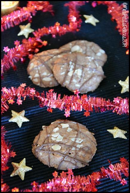 palets au chocolat 2C {Bredeles} Palets au chocolat