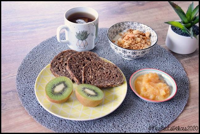 petit déjeuner sans sucre 1C Mon petit déjeuner sans sucres libres (+ recette)