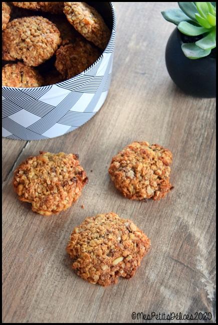 galettes sans sucre avoine et graines 2C Galettes à lavoine et aux graines sans sucres libres