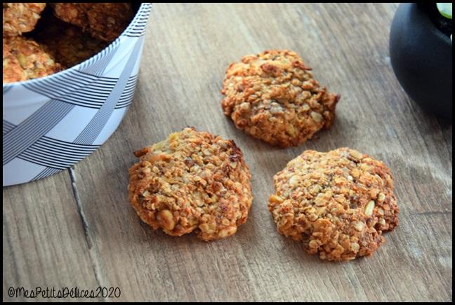 galettes sans sucre avoine et graines 3C Galettes à lavoine et aux graines sans sucres libres