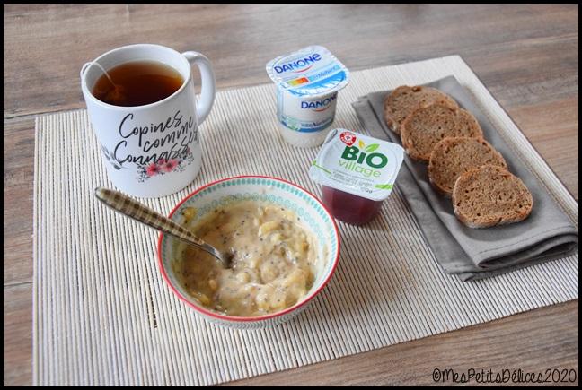 petit déjeuner sans sucre 2C Mon petit déjeuner sans sucres libres (+ recette)