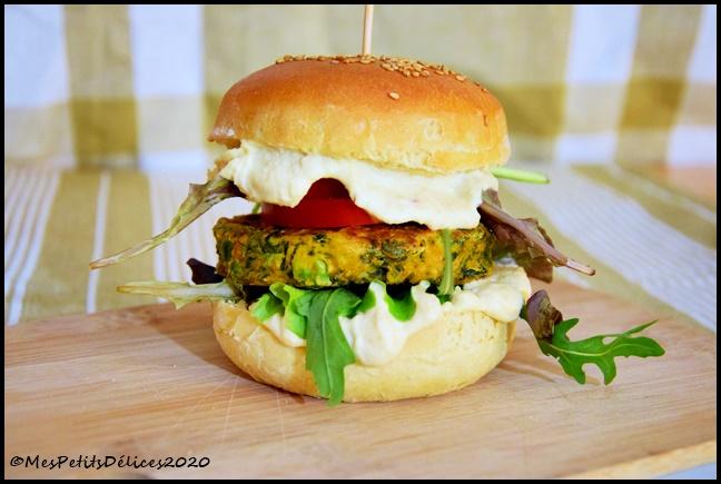 burger végé 1C Burgers végétariens (+ recette du pain à burger)