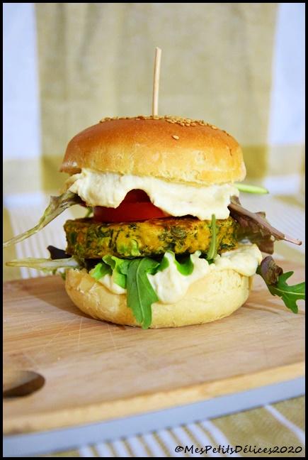 burger végé 2C Burgers végétariens (+ recette du pain à burger)