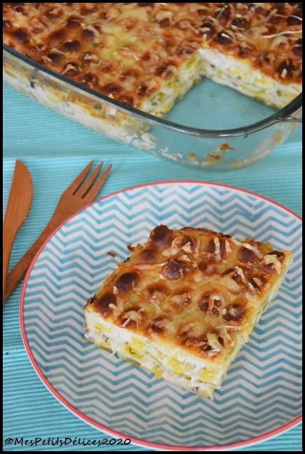 gratin ravioles poireaux 1C Gratin de ravioles du Dauphiné aux poireaux