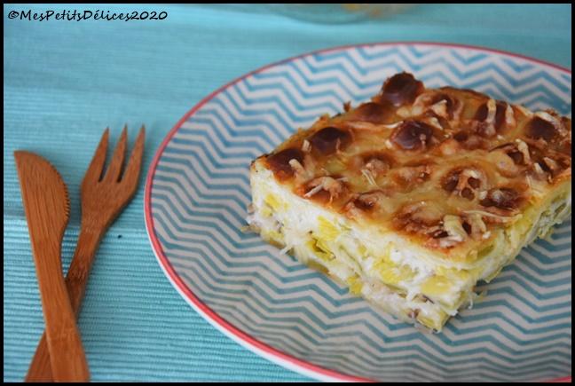 gratin ravioles poireaux 2C Gratin de ravioles du Dauphiné aux poireaux