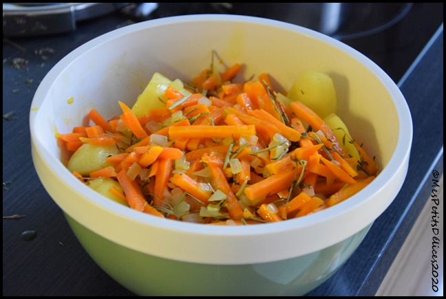 mijoté de boeuf aux carottes et PDT 1C Mijoté de boeuf aux carottes et pommes de terre