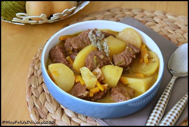 mijoté de boeuf aux carottes et PDT 3C Mijoté de boeuf aux carottes et pommes de terre