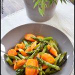 poelée carotte asperge estragon 2C