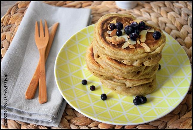 pancakes super fluffy au levain 2C Super fluffy pancakes au levain (IG bas)