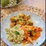poulet carotte pesto tomate 1C