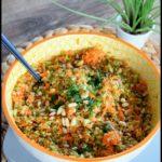 salade boulgour carotte brocoli sauce asiatique 3C