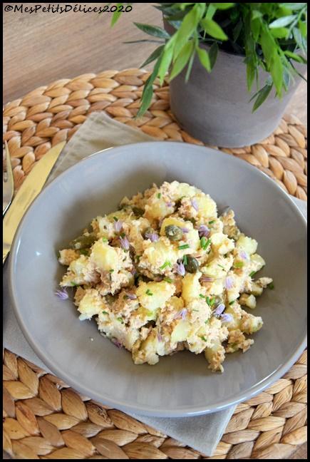 salade pdt thon 1C Salade de pommes de terre au thon