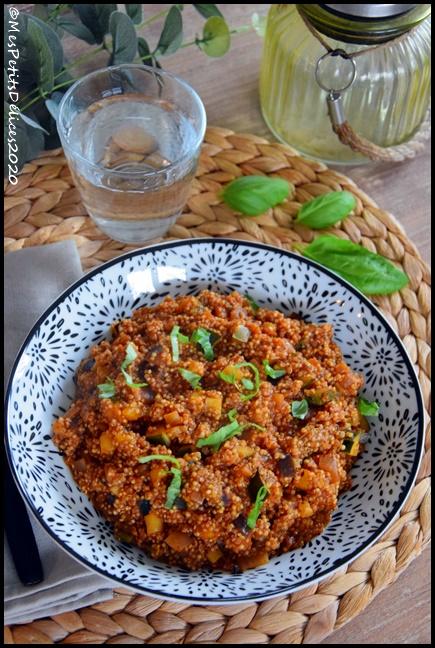 quinoa aux légumes dété 1C Quinoa aux légumes dété