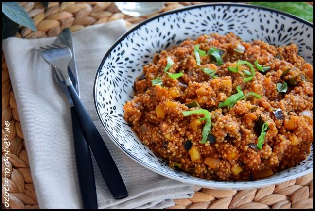 quinoa aux légumes dété 3C Quinoa aux légumes dété