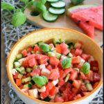 salade fraîcheur à la pastèque 1C