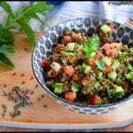 salade lentilles menthe 3C
