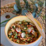 salade lentilles quinoa radis concombre carotte 1C