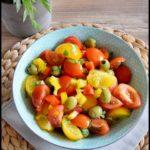salade tomate poivron olive 2C