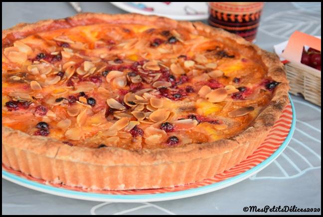 tarte abricots groseilles 2C Tarte abricots & groseilles