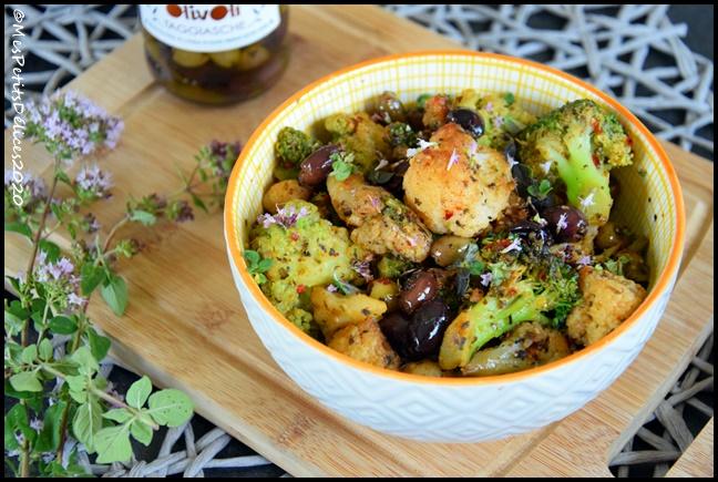 trio choux olives 2C Trio de choux aux olives
