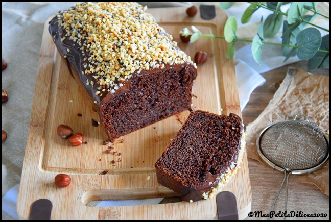 cake choco noisette 4C Cake choco noisette (IG bas)