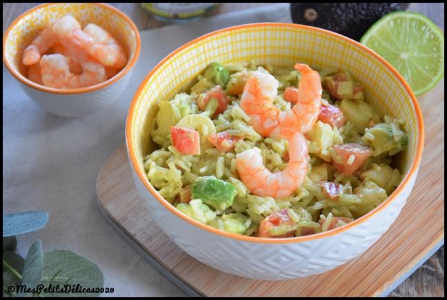 salade de riz exotique 3C Salade de riz exotique