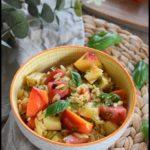 salade pâtes pastèque nectarine 1C
