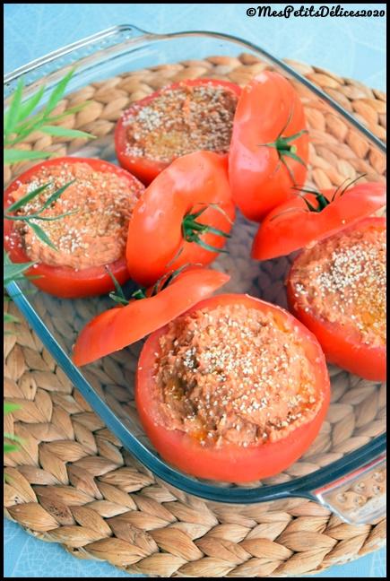 tomates farcies haricots rouges 1C Tomates farcies aux haricots rouges