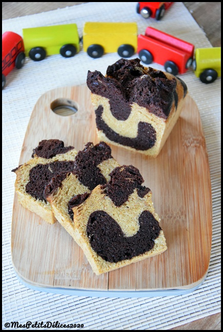 cake marbré tmx 2C Cake marbré façon Savane au Thermomix