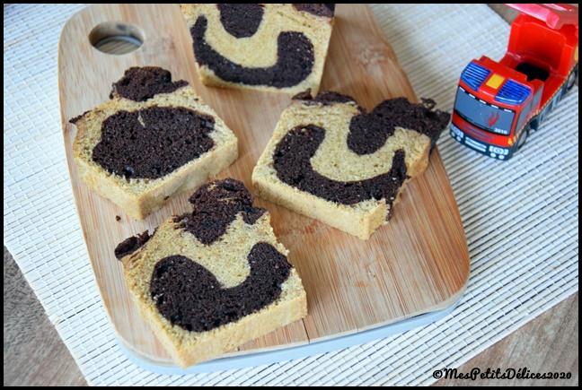 cake marbré tmx 3C Cake marbré façon Savane au Thermomix
