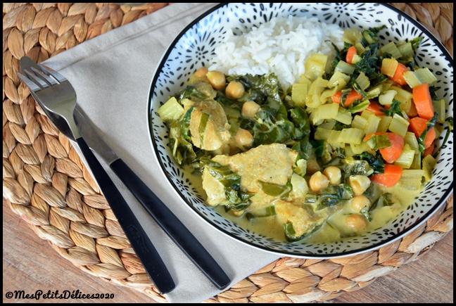 curry de veau aux blettes 2C Curry de veau aux blettes