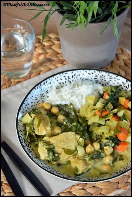 curry de veau aux blettes 3C Curry de veau aux blettes