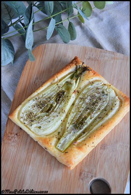 tarte fine fenouil 2C Tartes fines au fenouil