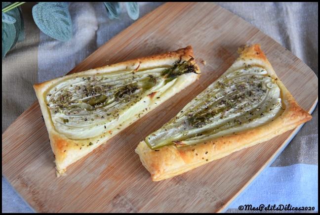 tarte fine fenouil 4C Tartes fines au fenouil