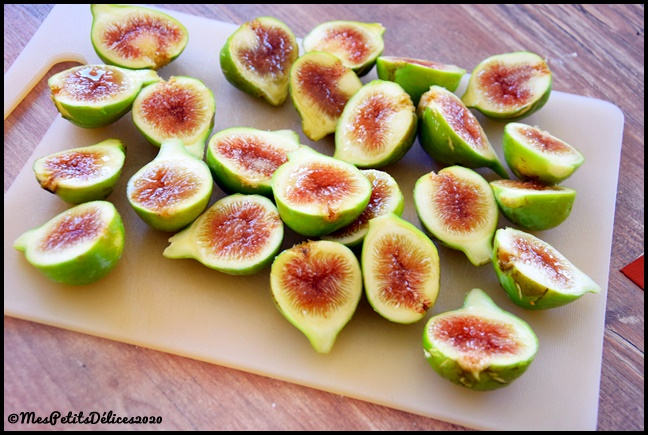 figues vertes C Tarte aux figues et amandes