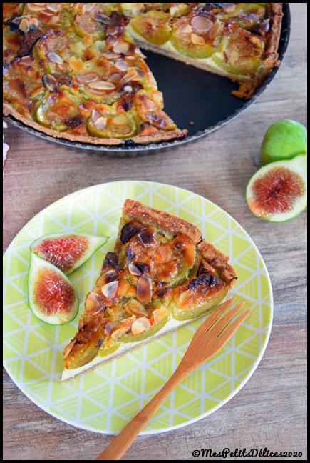 tarte figues amandes 4C Tarte aux figues et amandes