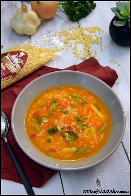 soupe de pâtes express 2C Soupe de pâtes express
